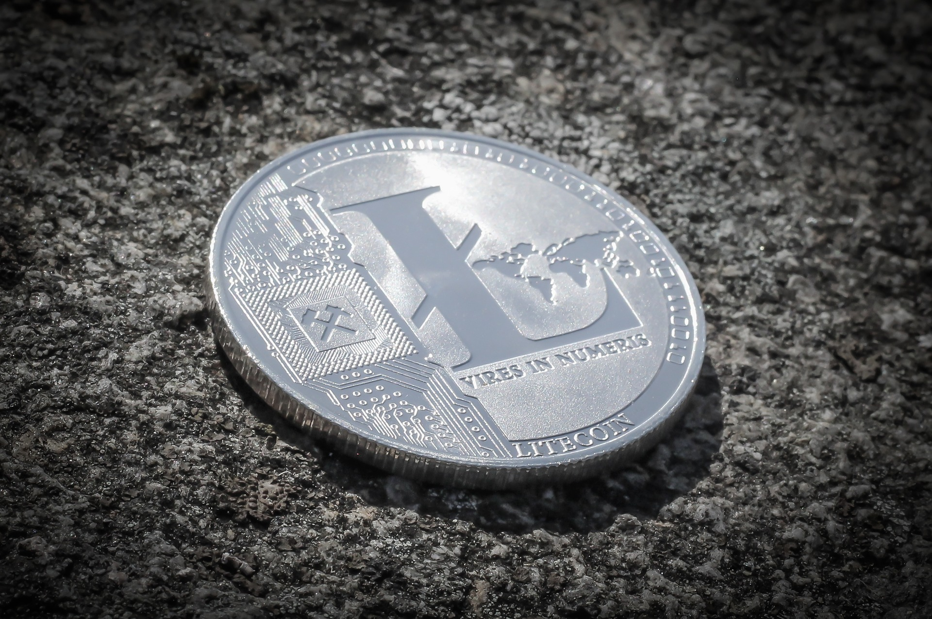 Litecoin price (LTC/USD) revisits $57 following sharp Tuesday morning rise