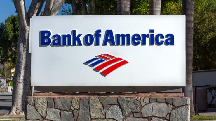 Bank of America shares rise sharply supported by Covid-19 vaccine news