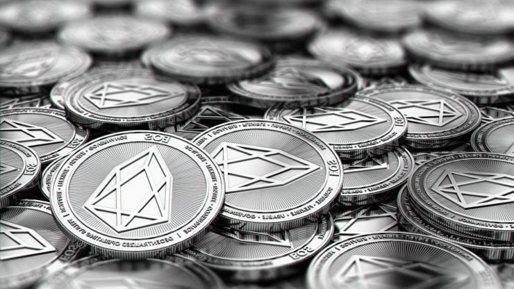 EOS price is down 21% since the beginning of September, here's why