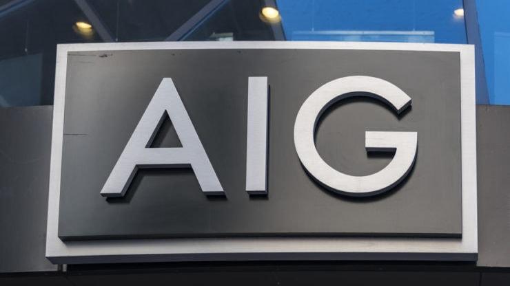 Las ganancias ajustadas de la aseguradora estadounidense AIG disminuyen un 56% en el segundo trimestre fiscal