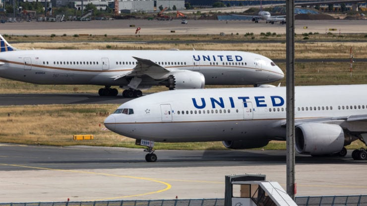 Image for United Airlines earnings