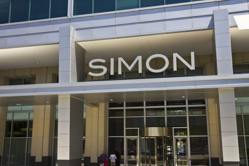 Simon Property Group says rent collection jumped to 85% in the third quarter