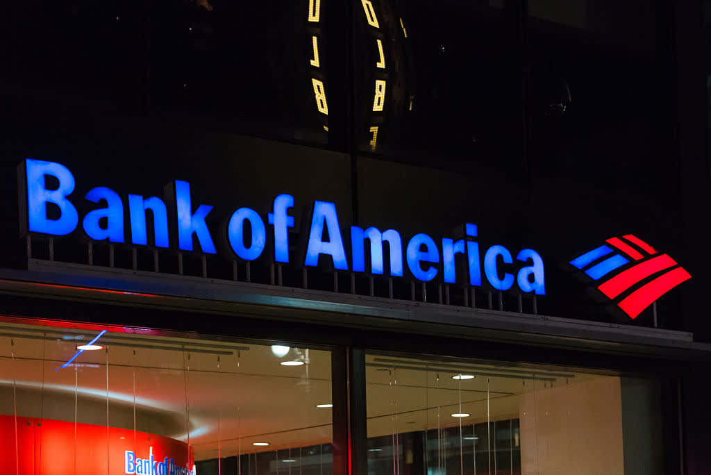 Is Bank of America a buy or sell in April?